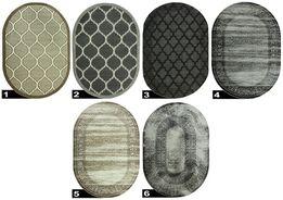 Dywan ROXY modne wzory nowoczesny koniczyna marokańska owal