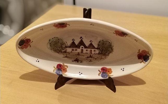 Тарелка коллекционная на подставке