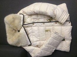 Zimowa kurtka z futerkiem