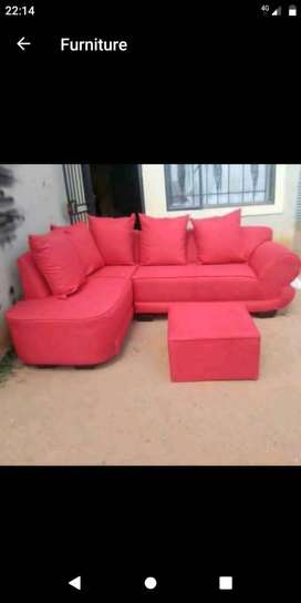 L shape couches brand new
