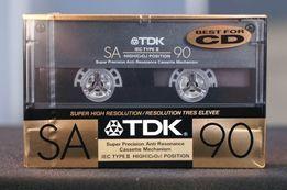 """Касета, аудио кассета TDK SA 90 1989р """"золота"""""""