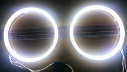 4шт Ангельские глазки Белые BMW E30 32 34 ВАЗ 2106 2103 ДХО LED БМВ
