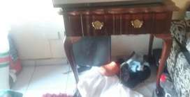 Antique Ball and claw table rare wood moving today must go by 12