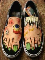Рисунок на одежде и обуви