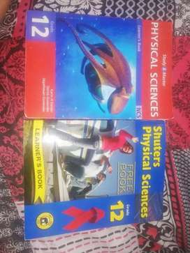 Grade 12 Physical Science textbooks