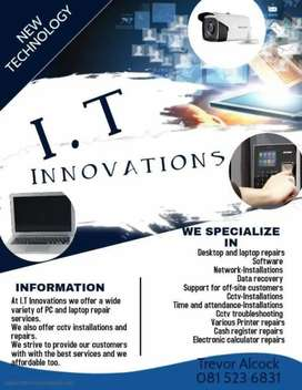 All I.T.Services at reasonable prices.Sale of hardware and software.