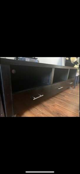 Coricraft slip cover couch and tv unit