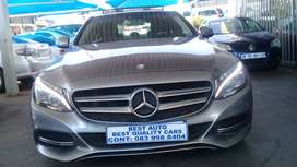 2015 Mercedes Benz C-220 Engine Capacity Blue-tec with Automatic Trans