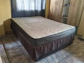 A 3 year old Siesta bed, by supra bedding