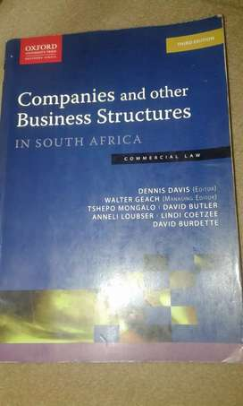 Companies and other Business Structures In SA - Commercial Law  3e
