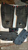 Пластик (обшивка) салона Mitsubishi Outlander 2.4 (пороги, накладки)