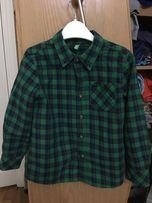 Рубашка фланель Benetton