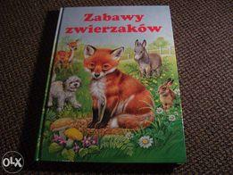 Nowa Książka Dla Dzieci Zabawy Zwierzaków Świat Książki