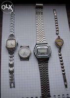 Наручные кварцевые часы: 2 шт. Луч (СССР), Cesoni, Quartz и Qartz