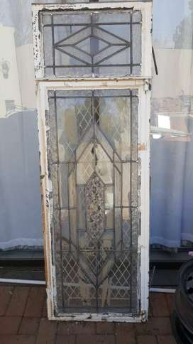 Antique leaded glass windows
