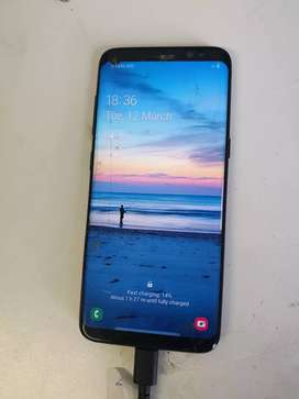 Samsung S8 cracked but working
