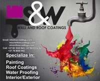 Wall and Roof Coating for sale  South Africa