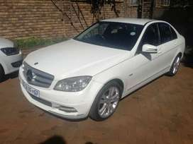 2011 Mercedes-Benz C220 CDI Automatic leather interior for sale