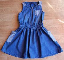 Sukienka Reserved jeans r.7-8l/128 cm