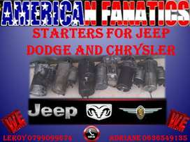 JEEP, DODGE AND CHRYSLER STARTERS