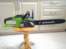 аккумуляторная цепная пила Greenworks 40v В НАЛИЧИИ