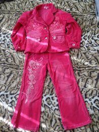 Вильветовый костюм