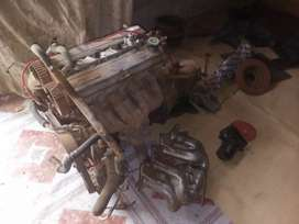 Ztech engine with gearbox