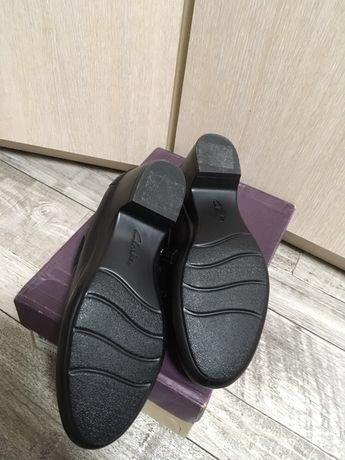 Женские туфли новые clark's на 37. на ножку 24 см. Кожа Киев - изображение 3