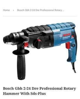 Bosch Drill and angle grinder brand new