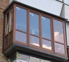 Балконы. Окна. Двери