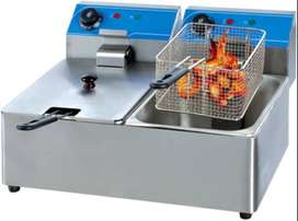 2-Tank 2-Basket Electric Fryer HEF-82A Short Description: Item Name pr