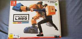 Nintendo switch LABO, game and back pack built