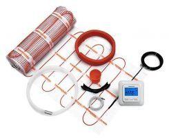 ЗНИЖКИ! тепла підлога електрична кабель мат теплый пол электрический