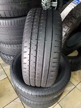 225/45/17 runflat continental tyres
