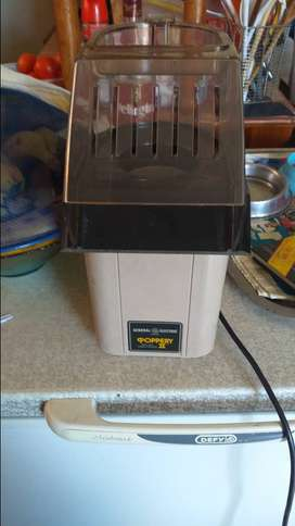 General electric poppery air popcorn machine for sale