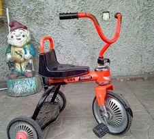 Велосипед. Трех колёсный детский велосипед стальной. Rambo 585.