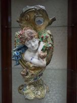 Ваза, статуэтка, конец 19 века, модерн, номерная с клеймом Wallendorf