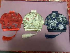 Chinese Jacket purses R40 each