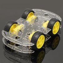 Конструктор Шасси платформа четырехколесная Умный робот 4WD Arduino