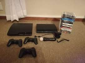 PS3 Consoles (500GB and 12GB)