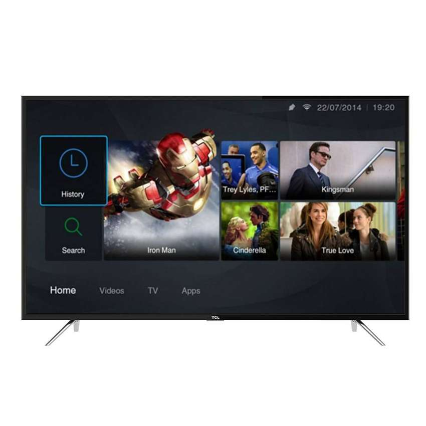 Brand new TCL 55 inch smart android tv 0