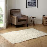 Image of 100% Wool Flokati Shag Rug