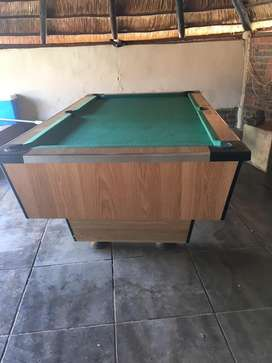 Big pool table and still nice