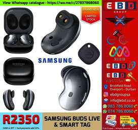 Samsung Buds Live with Smart Tag