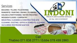 indoni projects and cleaning services