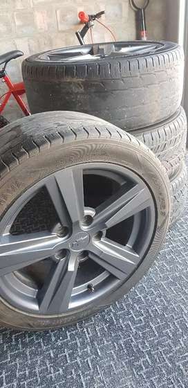 """Chevrolet 17"""" PCD5/120 wheels for sale"""