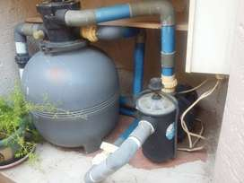 Swimming Pool Pump with Sand Filter
