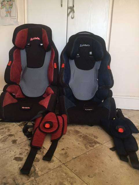 3x CuddleCo. Kids Car Seats for kids between 9kg - 36kg. 0