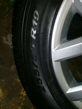 19 Inch AMAROK Magrim &Tyre 255/55R19 For SPARE WHEEL On Sale  .