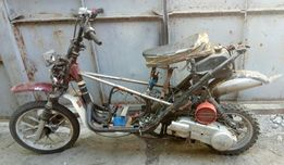 Продам кроссовый скутер с документами